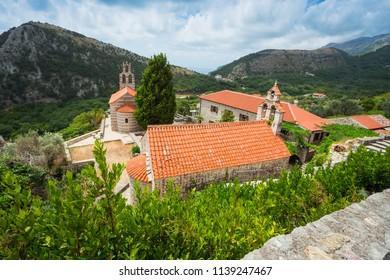Montenegro. July 25, 2017. The monastery Gradishte. 14th century AD. Montenegro