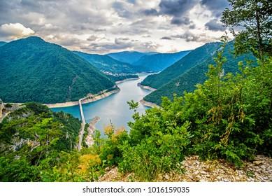 Montenegro mountains, Durmitor Piva, Tara Panorama