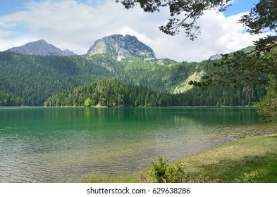 Montenegro, national Park Durmitor, Black lake in the summer