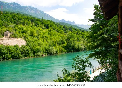 Montenegro Tara River Canyon Mountains Landscape Crystal Clear Turquoise Blue Water