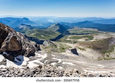 Monteperdido summit views