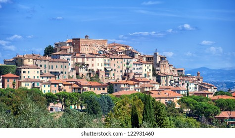 Montepulciano old town, Tuscany, Italy