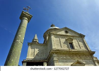 Montepulciano, Tuscany, Italy - Church of San Biagio near Montepulciano