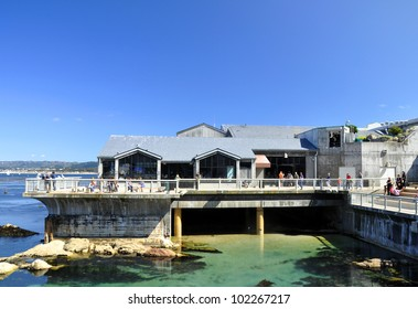 Monterey bay aquarium building