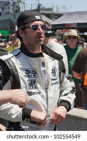 MONTEREY, CA - MAY 12: Patrick Dempsey of Dempsey Racing at the grid for the American Le Mans Series presented by Patron at Mazda Raceway Laguna Seca on May 12, 2012 in Monterey, California