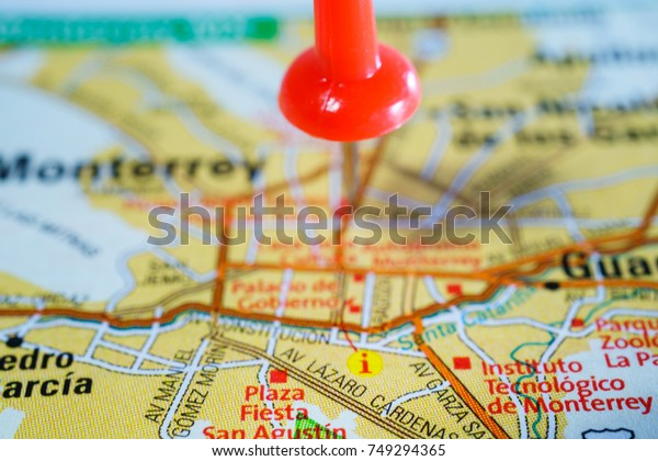 Monterey United States Map Stock Photo (Edit Now) 749294365