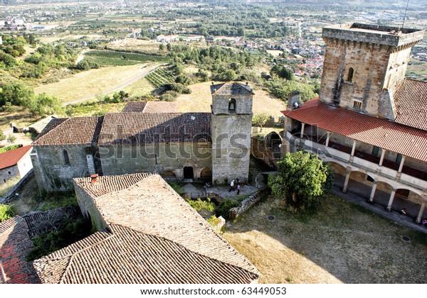 Monterrei castle in Verin, Spain