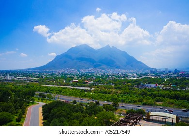 Monterrey City in Mexico