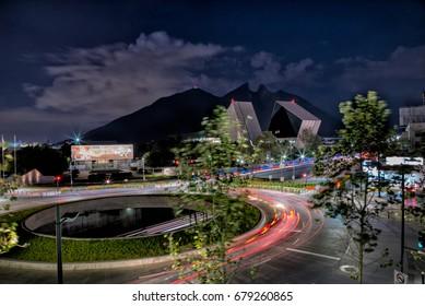 Monterrey at night