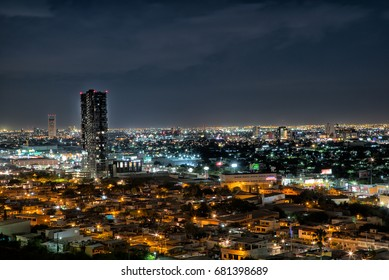 Monterrey View at night