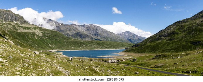 Montespluga, Italy: lake of Montespluga
