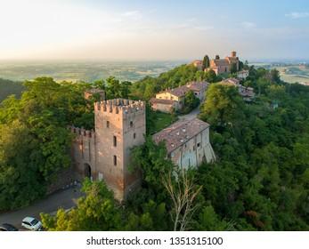 Monteveglio medieval village