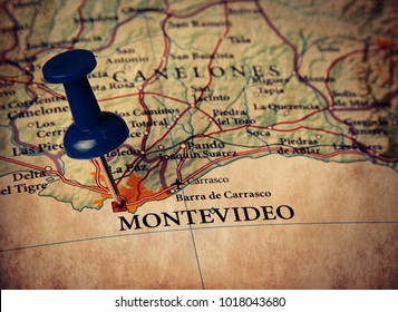 Montevideo  destination in the map