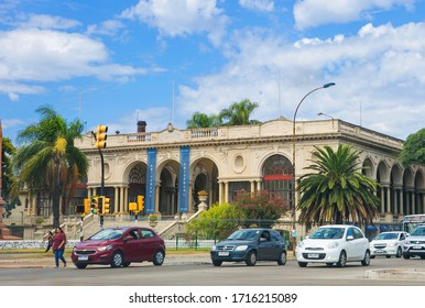 Montevideo, Uruguay, 02/28/2020, Italian hospital.  The Italian hospital of Montevideo, whose official name is the Italian hospital Umberto I, is a medical center founded in 1890.