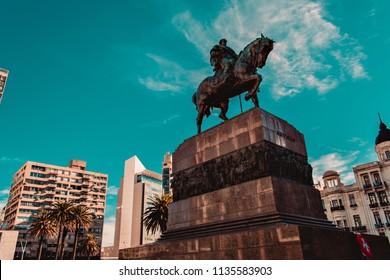 Montevideo Uruguay Artigas Monument