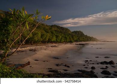 Montezuma Beach in Costa Rica