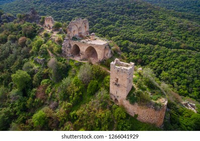 Montfort Fortress - an ancient crusador fortress in the Upper Galilee region of northern Israel.