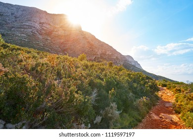 Montgo mountain in Denia Alicante of Spain