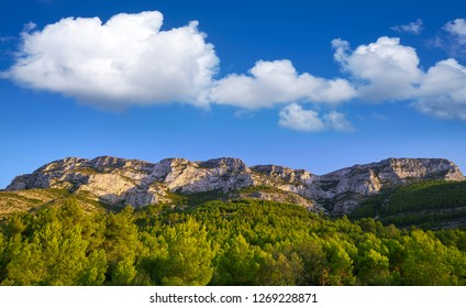 Montgo mountain in Denia of Alicante Spain
