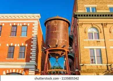 Montgomery, Alabama, USA historic water tower.