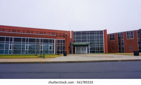 MONTGOMERY, NJ -21 JAN 2017- Montgomery High School, a large public high school in New Jersey, is home of the Cougars.