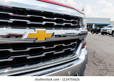 Monticello - Circa June 2018: Chevrolet Trucks at a Chevy Dealership. Chevrolet is a Division of General Motors XIX