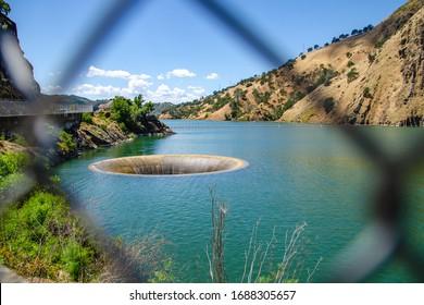 Monticello Dam on Lake Berryessa, California