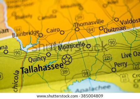 Monticello Florida Usa Stock Photo Edit Now 385004809 Shutterstock
