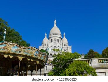 Montmartre Cathedral in Paris - Le Sacre Coeur
