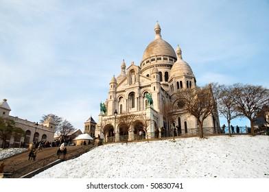 Montmartre church in Paris