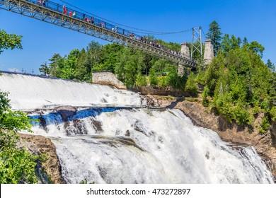 Montmorency Falls Park, Quebec City, Canada