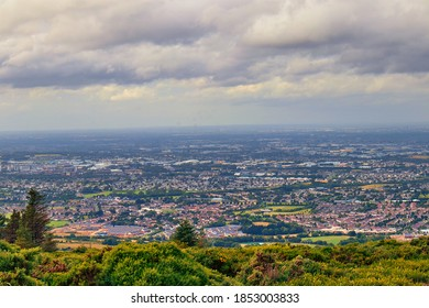 Montpelier Hill, near Tallaght in South County Dublin, is a popular place for locals and visitors to enjoy spectacular views over Dublin