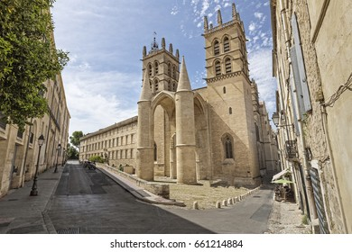 Montpellier cathedral, Southern France