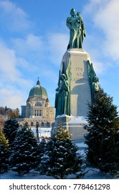 MONTREAL CANADA 12 13 17: Saint Joseph Oratory of Mount Royal is a Roman Catholic minor basilica and national shrine. It is Canada largest church and the third-largest church building in the world.