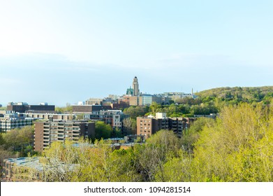 Montreal, Canada - May 9, 2018:University of Montreal, Quebec, Canada