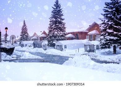 Montreal City Winter Wonder Land