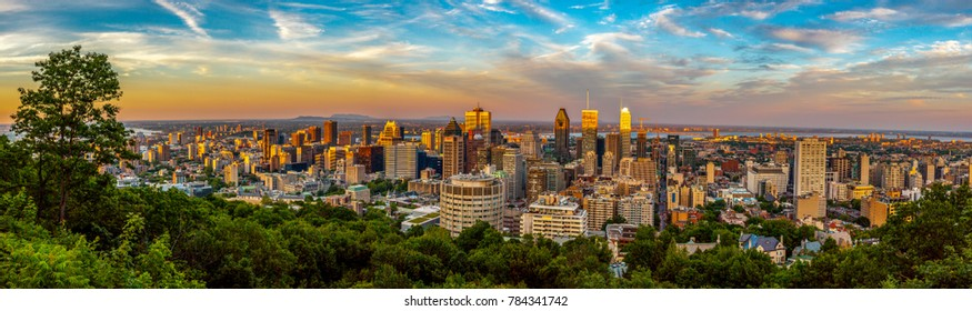 Montreal Downtown view