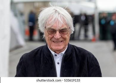 Montreal June 9, 2016. Formula One Group Chief Executive Bernie Ecclestones walks in the paddocks at the Canadian Formula 1 Grand Prix weekend.