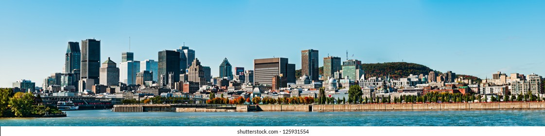 Montreal landscape,
