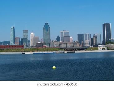 Montreal Lasalle Skyline