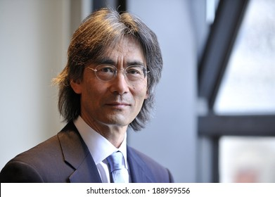 MONTREAL - MAY 4: A portrait of the American conductor and opera administrator Kent Nagano is made during a press conference, on May 4, 2011 in Montreal, Quebec, Canada.