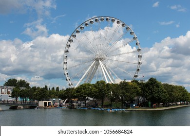 the Montreal Observation Wheel