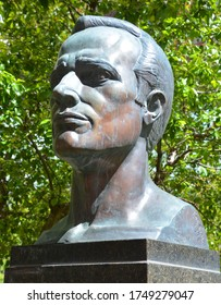 MONTREAL QUEBEC CANADA 06 02 2020: In 1944, during World War II, Raoul Wallenberg was instrumental in issuing thousands of Swedish protective passports, organising safe houses in Budapest