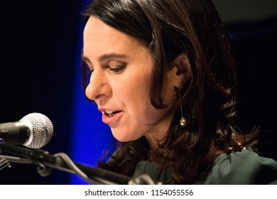 Montreal, Quebec /Canada - The night Valerie Plante became Montreal's first female mayor on November 5, 2017.