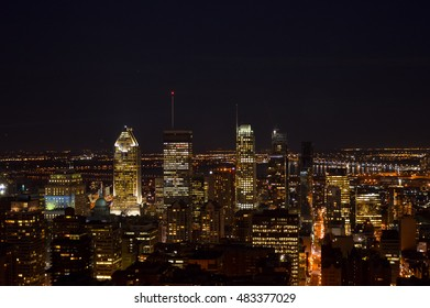 Montreal skyline in Quebec, Canada