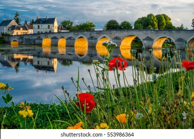 Montrichard, Loire Valley, France.