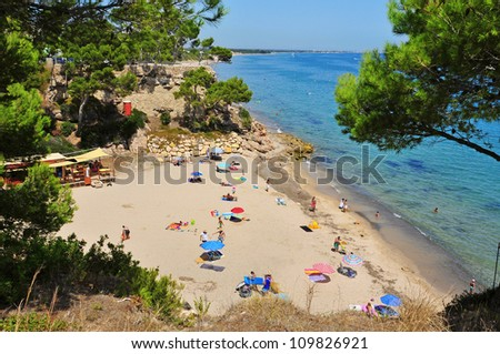 bb5d09445 MONTROIG DEL CAMP SPAIN AUGUST 10 Stock Photo (Edit Now) 109826921 ...