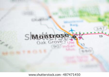 Montrose Colorado Usa Stock Photo Edit Now 487471450 Shutterstock