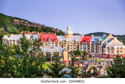 Mont-tremblant in summer.