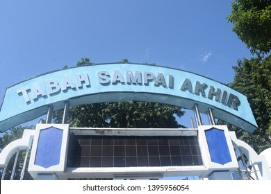 Monumen Kapal Selam Monkasel Surabaya East Java Indonesia May 3, 2019. Indoor and outdoor situation of Submarine Museum Pasopati from Millitary Sea of Indonesia